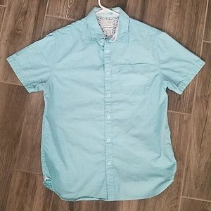 Other - Baby blue button up